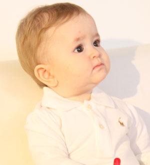 عکس کودک شش ماهه